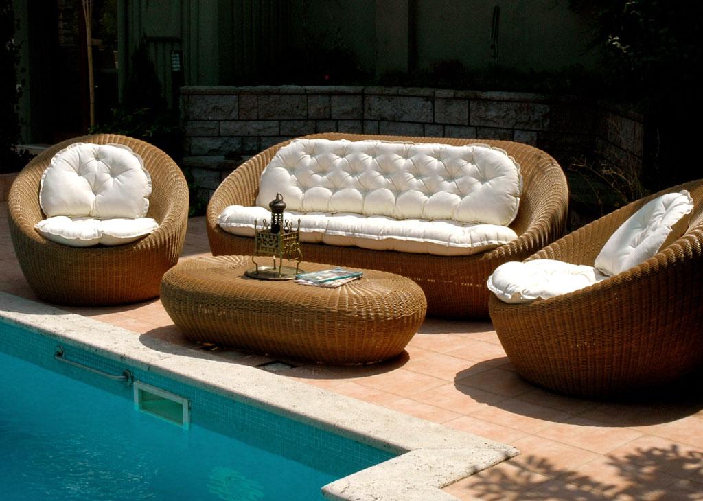 Bahçede Salon Rahatlığı!